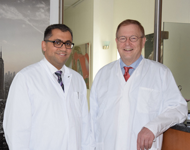 Dr. Heiko Hofmann und Dr. (univ. tishreen) Tarek Ebrahim