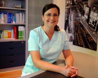 Frau Verena Rafeld (Ärztin)